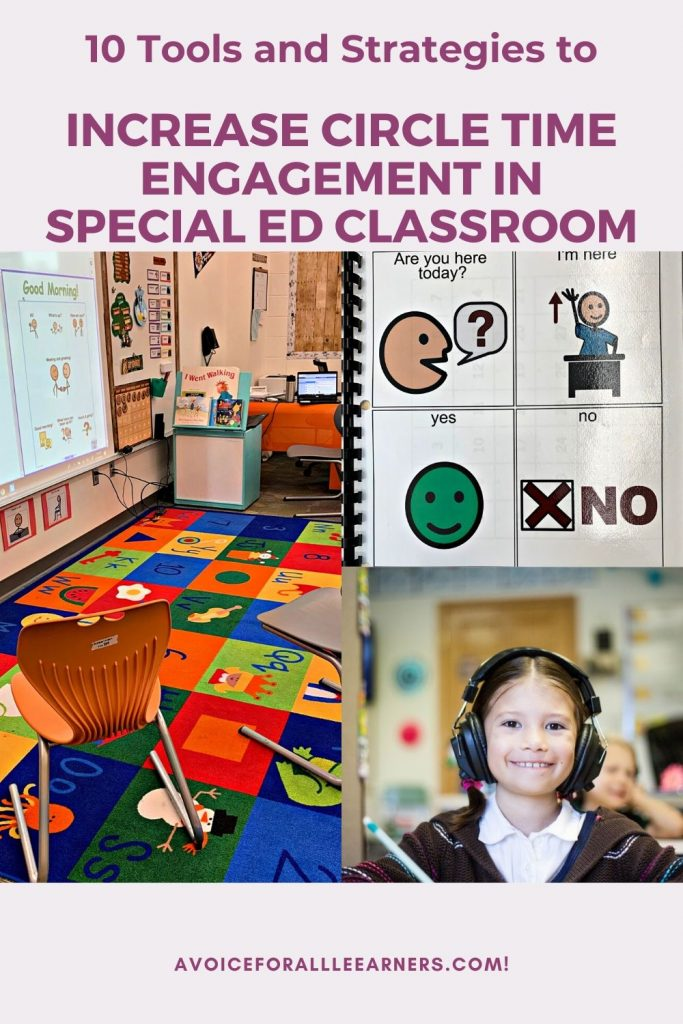Best tools and strategies to increase engagement during circle time in the special education classroom