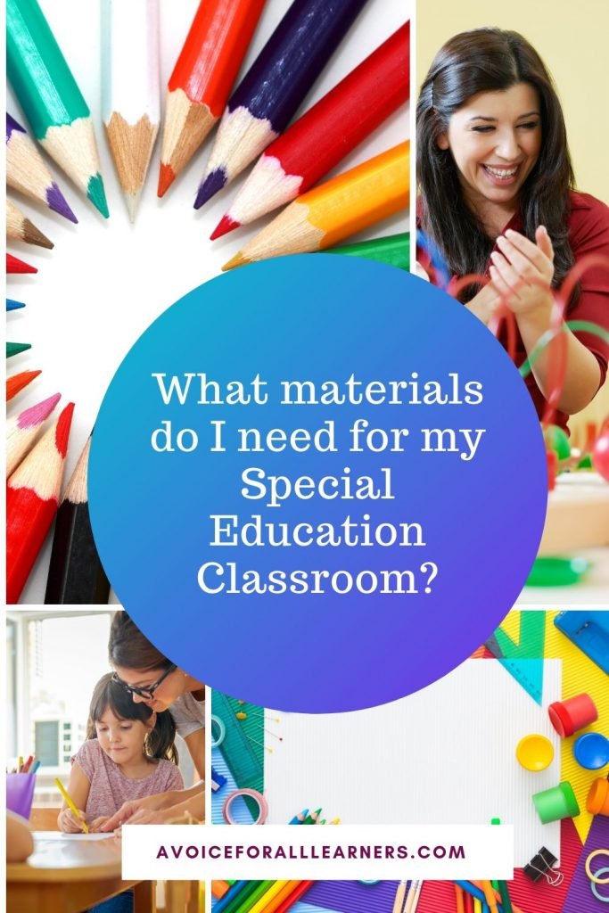Best teaching materials and products  to help your students with disabilities in your special education classroom.