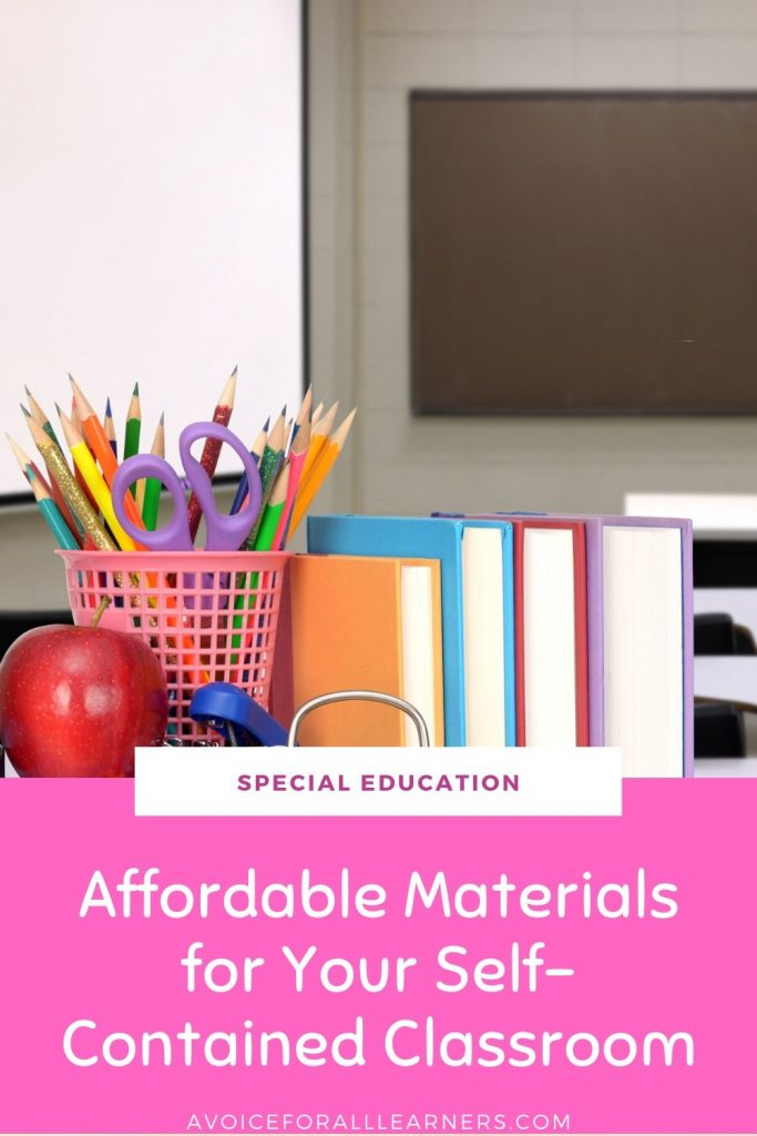 Discover affordable teaching materials and resources for your special education classroom.